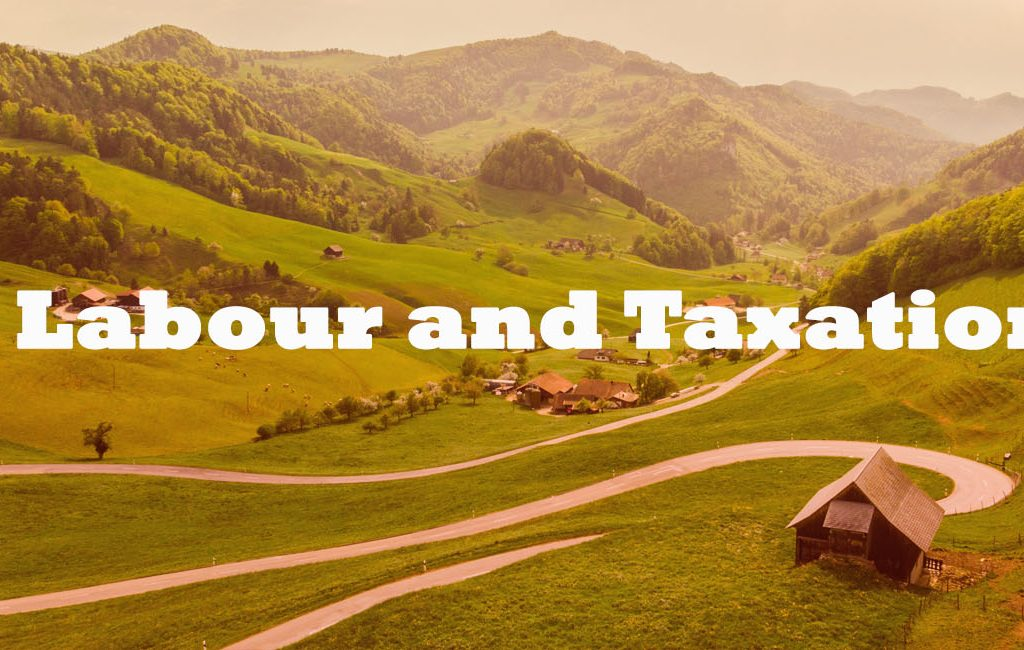 Labour and Taxation